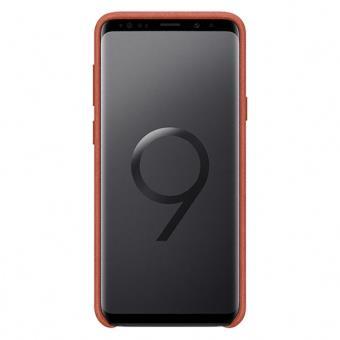 Funda Samsung Alcantara Cover Rojo para Samsung S9+