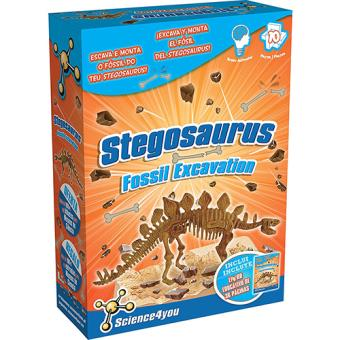 Science4you: Stegossaurius. Fossil Excavation
