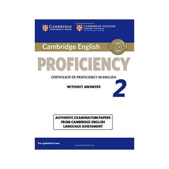 Cambridge English Proficiency: Student's Book 2 without Answers