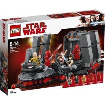 LEGO Star Wars Sala del trono de Snoke
