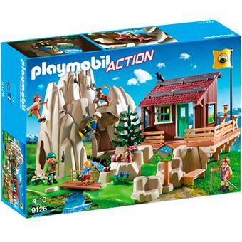 Playmobil Action Escaladores con refugio