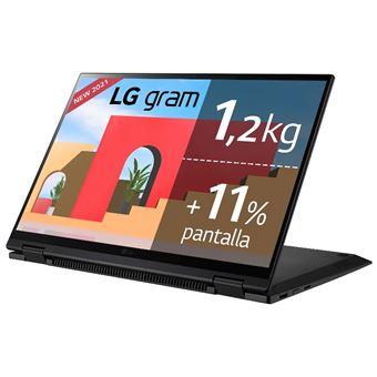 Convertible 2 en 1 LG Gram 14T90P-G.AA78B 14'' Negro