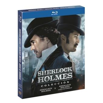 Pack Sherlock Holmes + Sherlock Holmes 2 - Blu-Ray