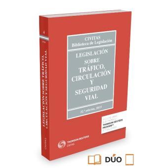 Legislación sobre Tráfico, Circulación  y Seguridad Vial (Papel + e-book)