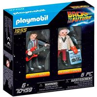 Playmobil Back to the Future Marty Mcfly y Dr. Emmett Brown