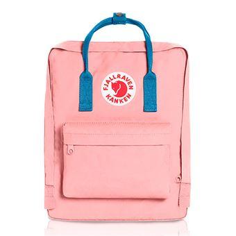 Mochila Fjällräven Kånken Classic Pink- Air Blue
