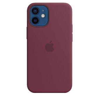 Funda de silicona con MagSafe Apple Ciruela para iPhone 12 mini