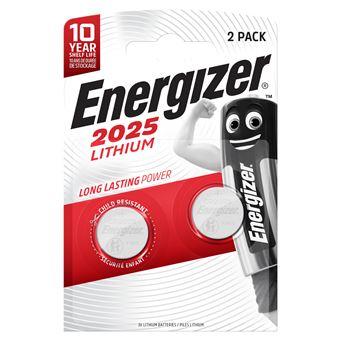 Energizer CR 2025 x2 Pila de Litio