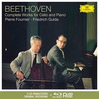 Beethoven - Complete Works For Cello And Piano - 2 CD + Blu-Ray