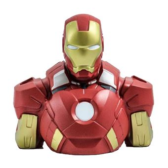 Hucha busto Marvel - Iron Man
