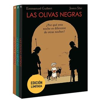 Las olivas negras - Pack 3 libros