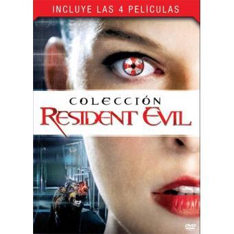Pack Resident Evil: Cuatrilogía - DVD
