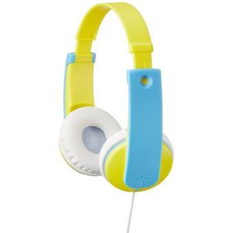Auriculares infantiles JVC HA-KD7 Tinyphones Amarillo/Azul