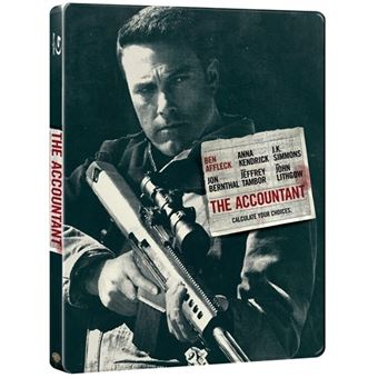 El contable - Steelbook Blu-Ray