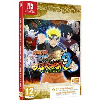 Naruto Shippuden: Ultimate Ninja Storm 3 Nintendo Switch