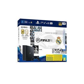 Consola PS4 Pro 1TB + Dualshock + FIFA 21 + FUT 21 + PS Plus 14 días