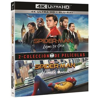 Pack Spiderman - Homecoming + Lejos de casa - UHD + Blu-Ray
