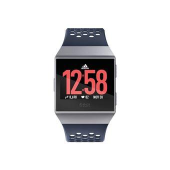 Smartwatch Fitbit Ionic Edición Adidas Gris/Plara
