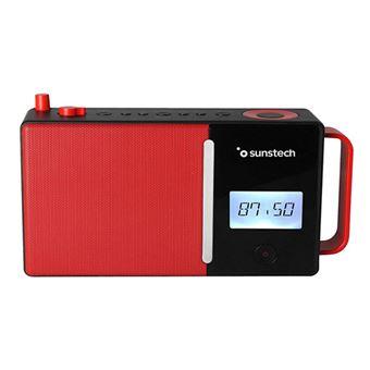 Radio Portátil Bluetooth Sunstech RPDS500 Rojo