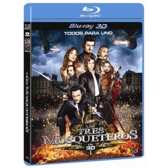 Los tres mosqueteros - Blu-Ray 3D