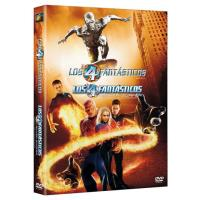 Pack Los 4 Fantásticos + Los 4 Fantásticos y Silver Surfer - DVD