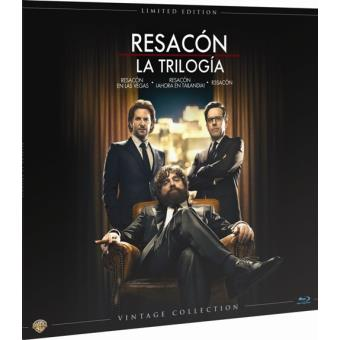 Pack Resacón. La trilogía - Ed Limitada Vinilo - Blu-Ray