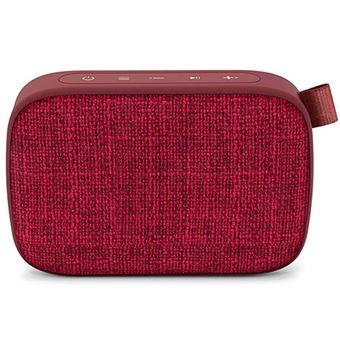 Altavoz Bluetooth Energy Sistem Fabric Box 1+ Pocket Cherry