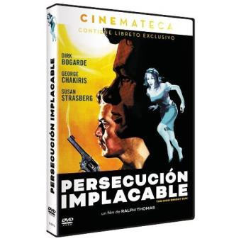 Persecución Implacable - DVD