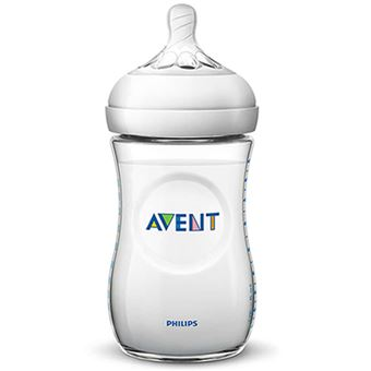 Biberón natural Philips Avent SCF033/17 260 ml 1 mes