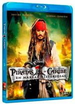 Piratas del Caribe 4 - Blu-Ray