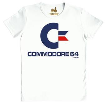 Camiseta Commodore Blanca Talla M