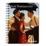 Agenda 2019 Deluxe semana a la vista Jack Vettriano (16 x 22 cm)
