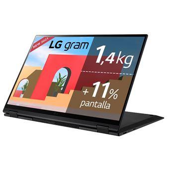 Convertible 2 en 1 LG Gram 16T90P-G.AA78B 16'' Negro