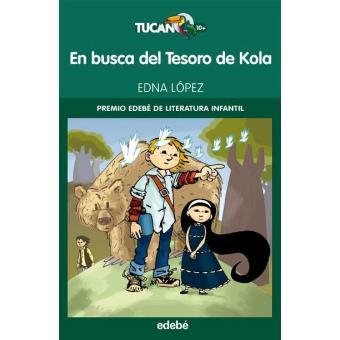 En busca del tesoro de Kola. Premio Edebé de literatura infantil