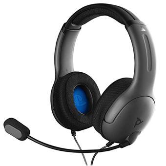 Headset gaming LVL 40 Gris para PS4