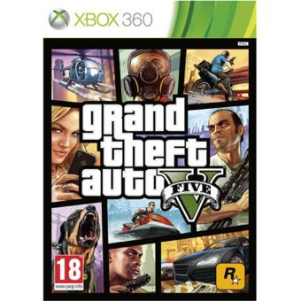 GTA V - Grand Theft Auto  Xbox 360
