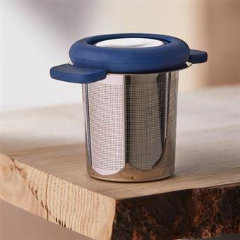 Filtro de té azul para taza
