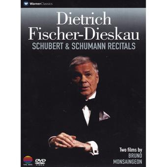 Schubert & Schumann Recitals: Fischer-Dieskau (DVD)