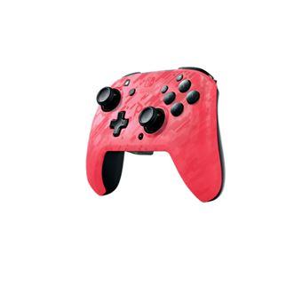 Mando PDP Faceoff Rosa para Nintendo Switch