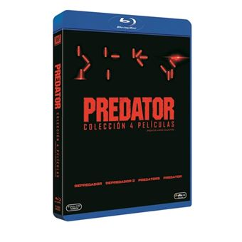 Pack Saga Predator -Blu-Ray