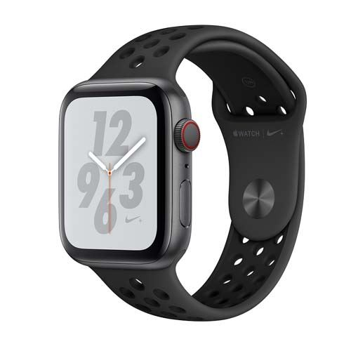 Apple Watch Series 4 Nike+ GPS + Cellular 44mm space grey Sport Band anthracite/black