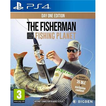 The Fisherman: Fishing Planet Day One PS4
