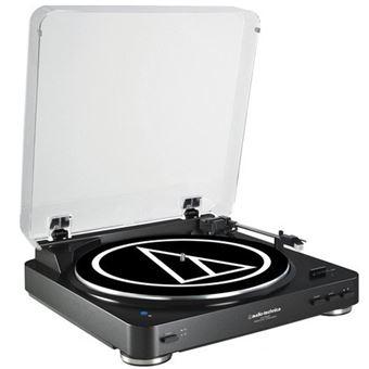 Tocadiscos Bluetooth Audio Technica AT-LP60BK-BT