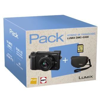 Cámara EVIL Panasonic Lumix GX80 + 12-32 mm Pack