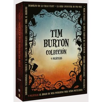 Pack Tim Burton - DVD