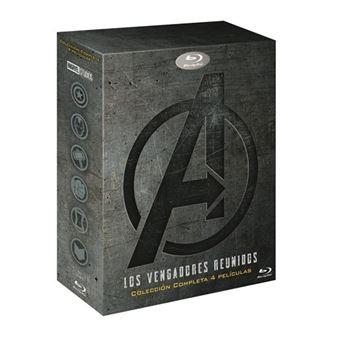 Pack Tetralogía Los Vengadores - Blu-Ray