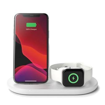 Cargador inalámbrico Belkin Boost Charge para Apple Blanco