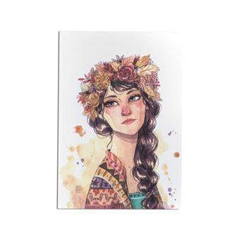 Cuaderno Cuquiland Kuri chica otoño