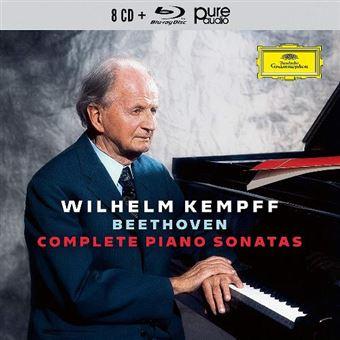 Box Set Complete Piano Sonatas Beethoven - 9 CDs + Blu-Ray