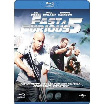 A todo gas: Fast Five - Fast and Furious 5 - Blu-Ray